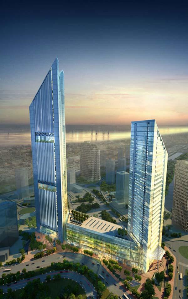 Hình ảnh Ngắm tòa tháp đôi cao thứ 2 Hà Nội 8000 tỉ của đại gia Vietinbank số 5