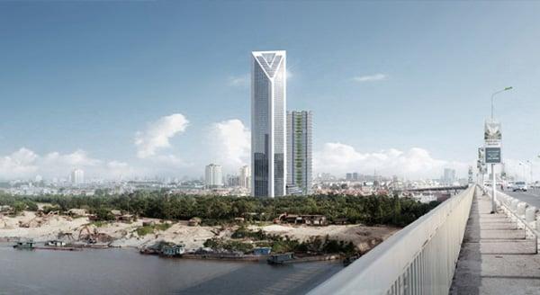 Hình ảnh Ngắm tòa tháp đôi cao thứ 2 Hà Nội 8000 tỉ của đại gia Vietinbank số 2