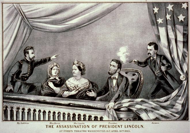 Những bí ẩn về Tổng thống Mỹ Abraham Lincoln bị ám sát 150 năm trước 1
