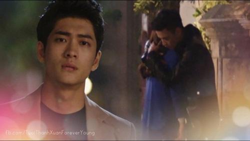 Tuổi thanh xuân tập 34: Junsu chứng kiến Khánh khóc và ôm Linh 6