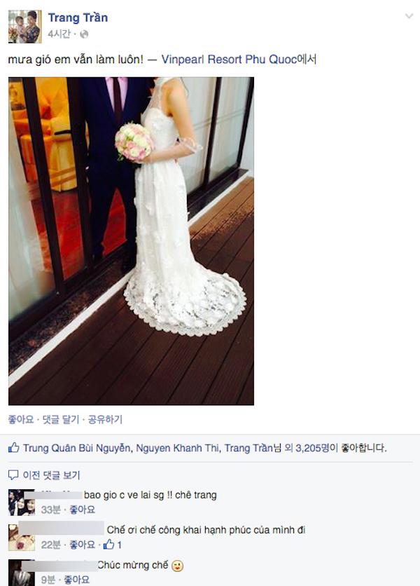 Lộ diện chồng đẹp trai của Trang Trần? 2