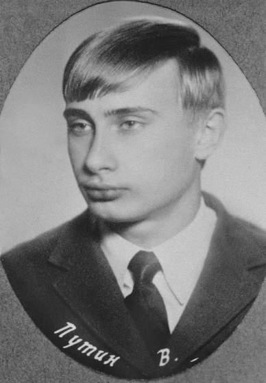 Những bức ảnh hiếm thời trẻ của Tổng thống Putin 3