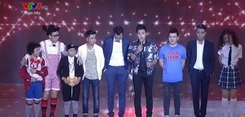 The Remix 2015 liveshow 10: Đông Nhi vượt Isaac giành giải nhất tuần 1