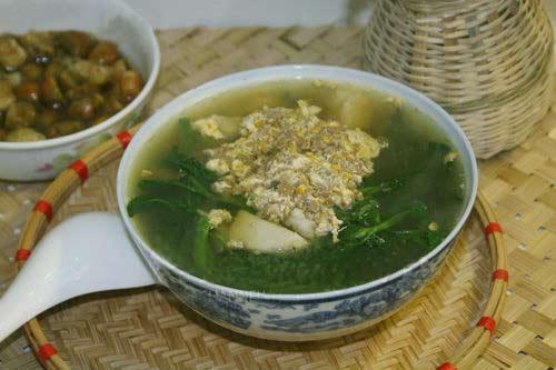 Món ngon mỗi ngày: Cách nấu canh cua đồng rau đay ngon cơm ngày hè 1