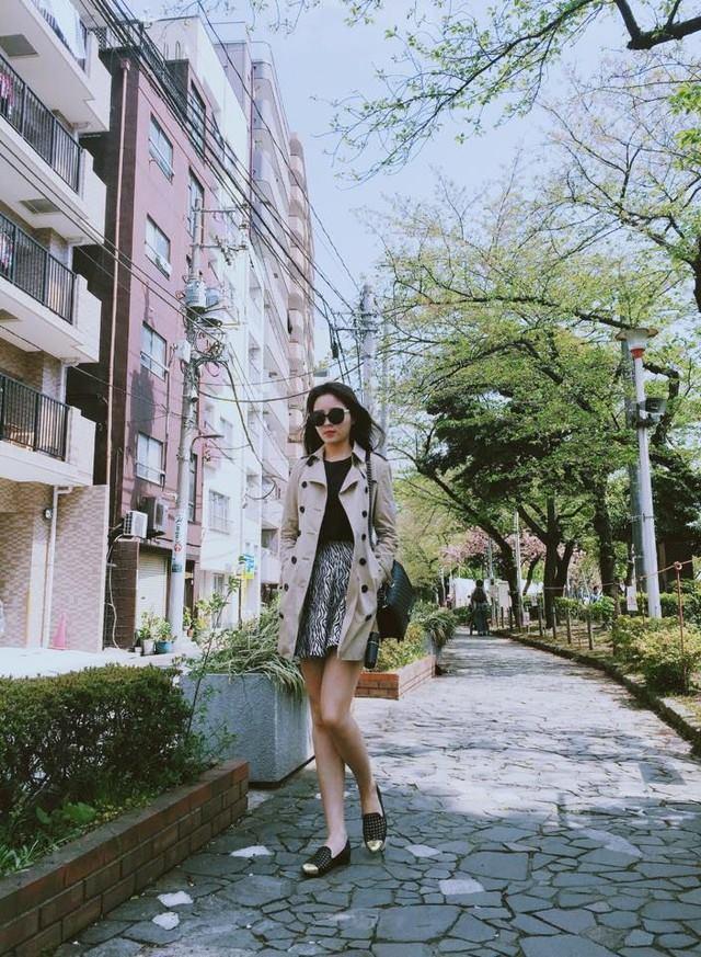 Nguyễn Cao Kỳ Duyên đẹp rạng rỡ, nổi bật tại Nhật Bản 1