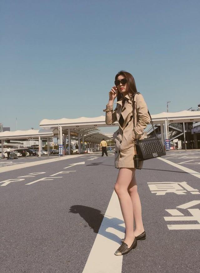 Nguyễn Cao Kỳ Duyên đẹp rạng rỡ, nổi bật tại Nhật Bản 2