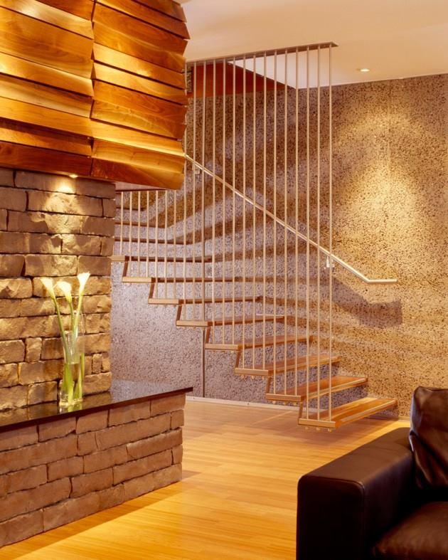Những thiết kế cầu thang gác tinh tế cho ngôi nhà hiện đại 6