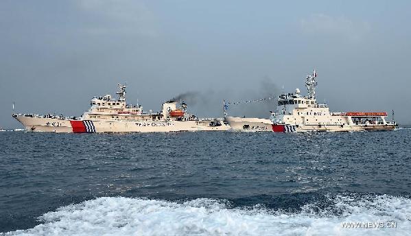 Trung Quốc điều tàu, thủy phi cơ tuần tra trái phép Hoàng Sa 1