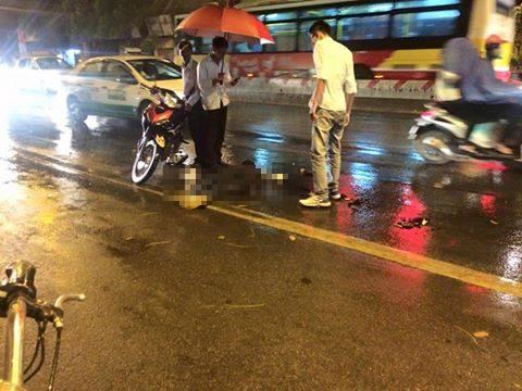 Truy tìm xe ô tô cán chết người rồi bỏ trốn tại Hà Nội 1