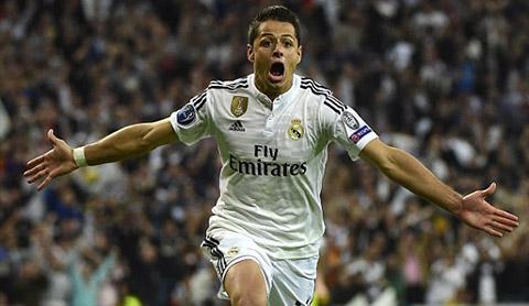 Real Madrid - Ateltico: Người hùng Chicharito 2