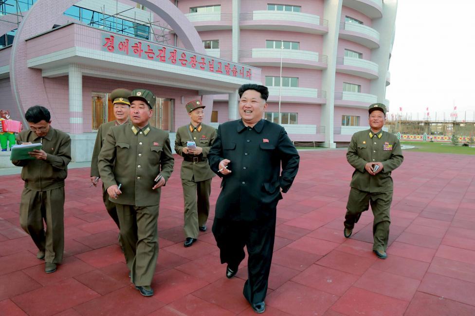 """Kim Jong-un hài lòng trước trại mồ côi đẹp như """"thiên đường"""" của Triều Tiên 9"""