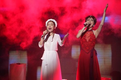 Hồ Ngọc Hà nóng bỏng bên Noo Phước Thịnh trong đêm chung kết The Remix 2015 3
