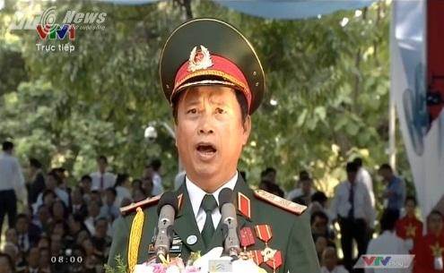 Trực tiếp: Lễ diễu binh, diễu hành kỷ niệm 40 năm giải phóng miền Nam thống nhất đất nước 38
