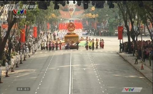 Trực tiếp: Lễ diễu binh, diễu hành kỷ niệm 40 năm giải phóng miền Nam thống nhất đất nước 37