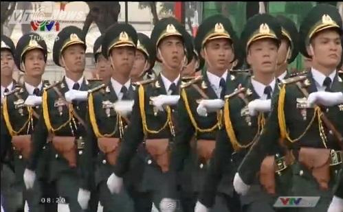 Trực tiếp: Lễ diễu binh, diễu hành kỷ niệm 40 năm giải phóng miền Nam thống nhất đất nước 22