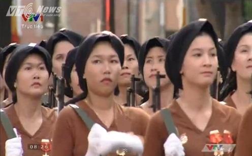 Trực tiếp: Lễ diễu binh, diễu hành kỷ niệm 40 năm giải phóng miền Nam thống nhất đất nước 15