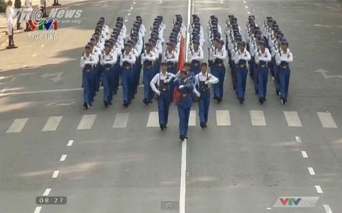 Trực tiếp: Lễ diễu binh, diễu hành kỷ niệm 40 năm giải phóng miền Nam thống nhất đất nước 14
