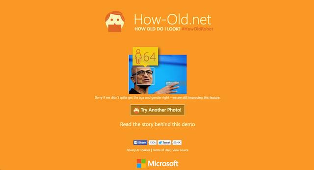 Hình ảnh Dân mạng sốt với ứng dụng đoán tuổi của Microsoft số 1