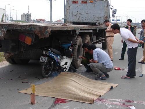162 người chết vì tai nạn giao thông trong 6 ngày nghỉ lễ 1