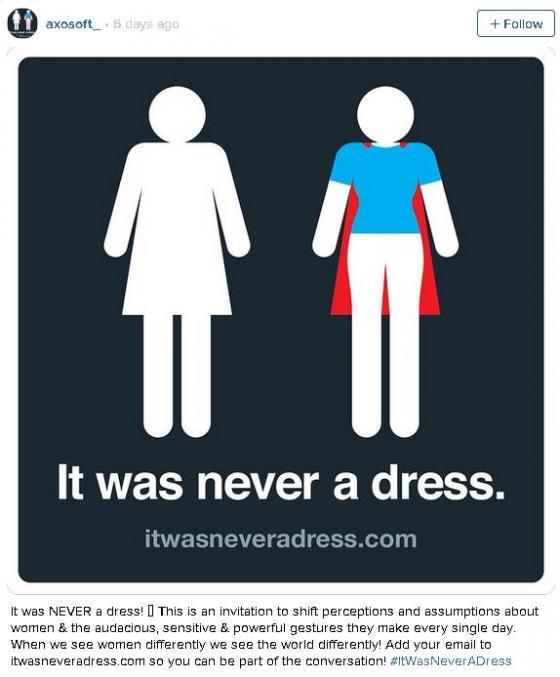 Biểu tượng trên phòng vệ sinh nữ không phải là chiếc váy? 3