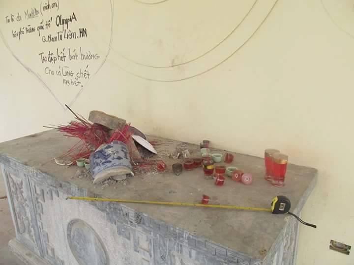 Chân dung kẻ đập vỡ hơn 300 bát hương trong nghĩa trang ở Hà Nội 2