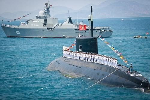 6 tàu ngầm Kilo cho Việt Nam sẽ được bàn giao đúng kế hoạch 2