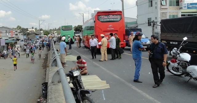 Khởi tố vụ tai nạn thảm khốc ở Trà Vinh khiến 4 người chết 1