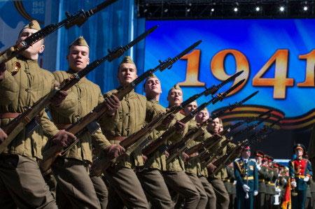 Hôm nay, châu Âu tưng bừng kỷ niệm 70 năm Ngày Chiến thắng Phát xít Đức 1