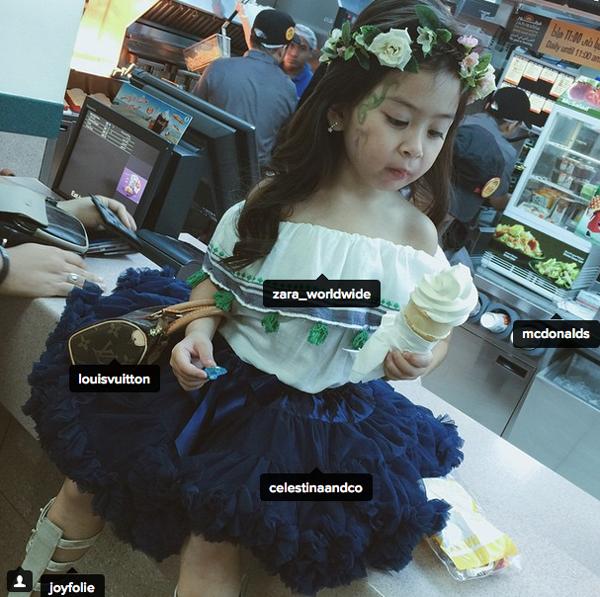 Choáng váng BST túi xách hàng hiệu của cô nhóc 4 tuổi 5