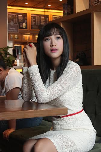 Á hậu Hoàng Oanh kể chuyện lần đầu đóng phim điện ảnh hài 4