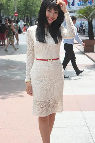 Á hậu Hoàng Oanh kể chuyện lần đầu đóng phim điện ảnh hài 5