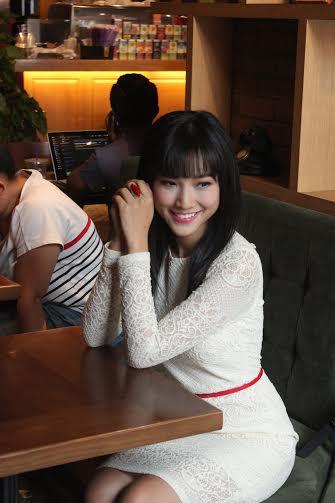 Á hậu Hoàng Oanh kể chuyện lần đầu đóng phim điện ảnh hài 6
