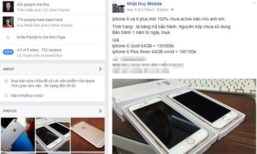 Mua iPhone 6 rẻ đang ồ ạt vào Việt Nam 'chắc chắn gặp nhiều rủi ro' 1