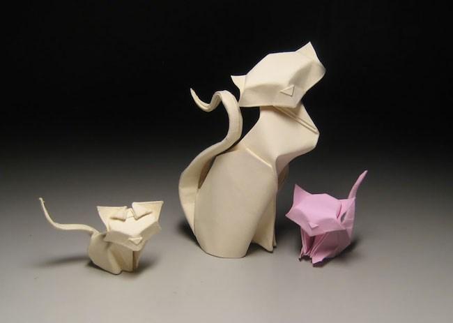Nghệ sĩ Việt sáng tạo cách gấp Origami cong tạo cơn sốt trên Internet 3