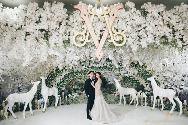 Cận cảnh đám cưới gần trăm tỷ của nữ diễn viên đẹp nhất Thái Lan 4