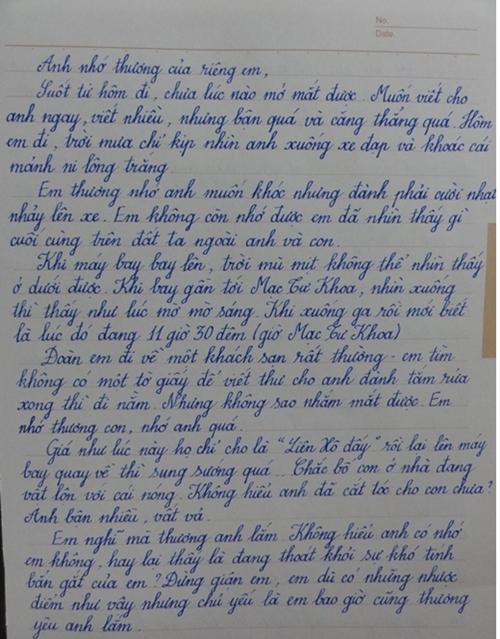 Thực hư lá thư viết tay của Lưu Quang Vũ gửi Xuân Quỳnh 2