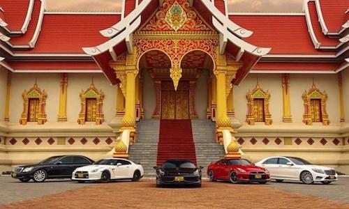 Dàn siêu xe Lào khiến đại gia Việt lác mắt 1