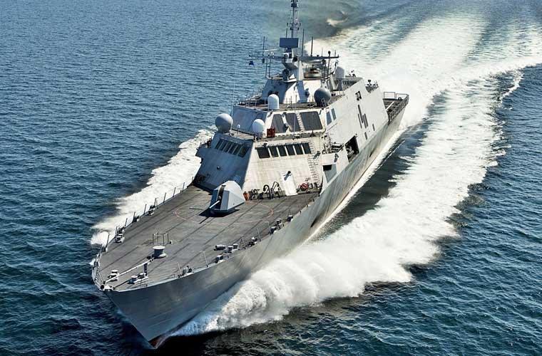 Tàu chiến Mỹ vừa tuần tra gần nơi Trung Quốc bồi đắp ở Trường Sa 2