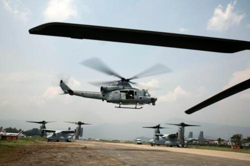 Trực thăng Mỹ mất tích khi cứu trợ động đất ở Nepal 2