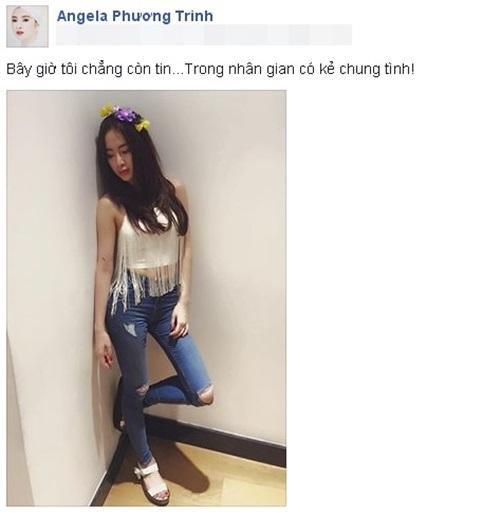 Angela Phương Trinh đau khổ vì thất tình? 6