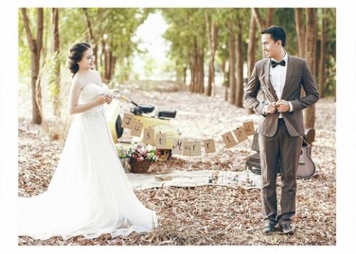 Bộ ảnh cưới chưa từng được công bố của vợ chồng Duy Nhân 19
