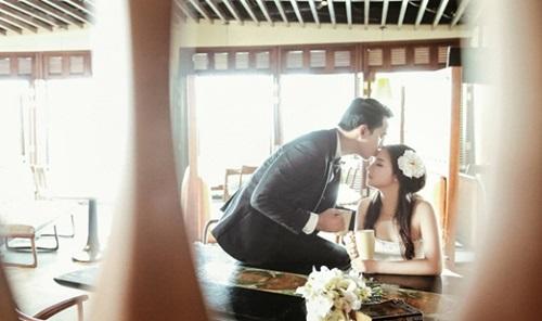 Bộ ảnh cưới chưa từng được công bố của vợ chồng Duy Nhân 2