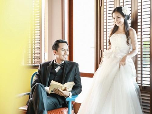 Bộ ảnh cưới chưa từng được công bố của vợ chồng Duy Nhân 7