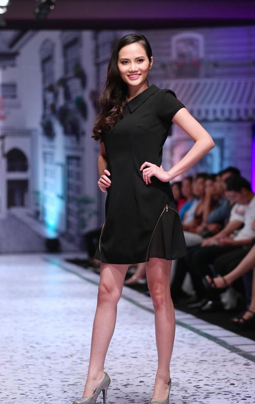 Hoa hậu Đông Nam Á Diệu Linh bất ngờ trở lại sàn diễn  4