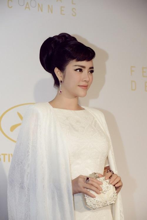 Lý Nhã Kỳ hội ngộ Phạm Băng Băng trên thảm đỏ Cannes 7