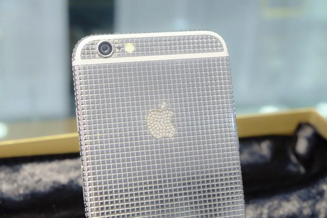 Hình ảnh Ngắm phiên bản iPhone 6 đính kim cương giá 145 triệu đồng số 6