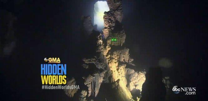 Những khoảnh khắc tuyệt đẹp của hang Sơn Đoòng trên truyền hình Mỹ 13