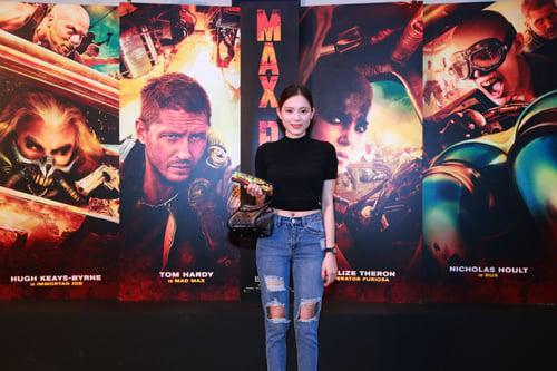 Huyền My xuất hiện cực sành điệu trong buổi ra mắt phim tại Hà Nội 4