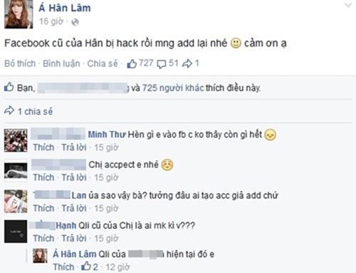 Hot girl Lâm Á Hân (BB & BG) bị quản lý cũ hack facebook? 1