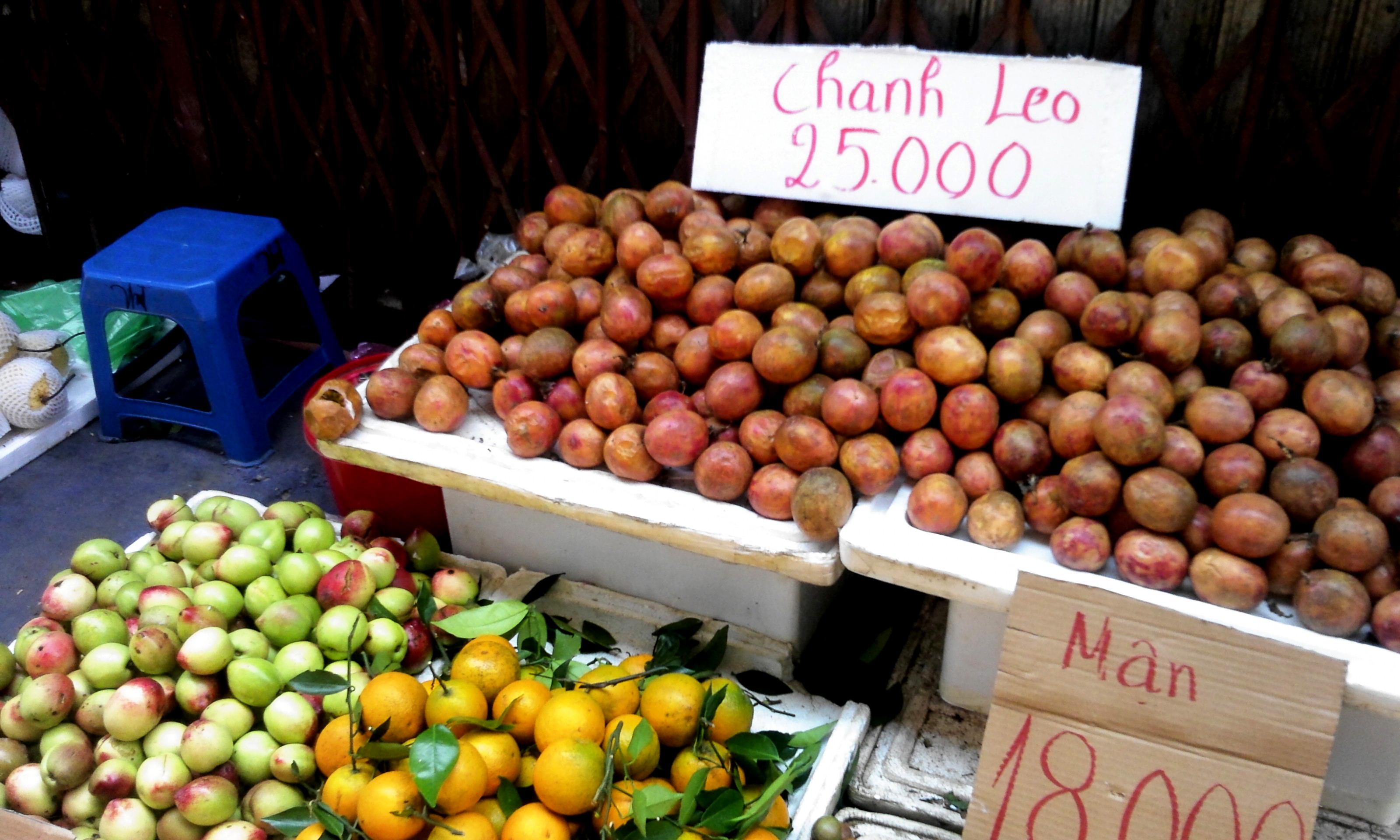 Nguy hại khôn lường từ hoa quả đầu mùa giá rẻ 2